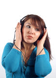 Enjoying Music 10 Stock Image