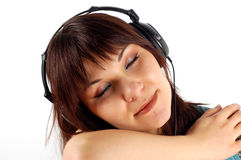 Enjoying Music 10 Stock Photography