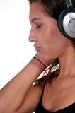 Enjoying music Royalty Free Stock Photo