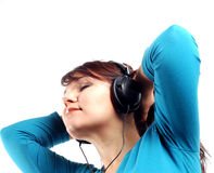 Enjoying Music 12 Royalty Free Stock Image