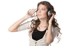 Enjoying the music Royalty Free Stock Images