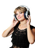 Enjoying music Royalty Free Stock Images