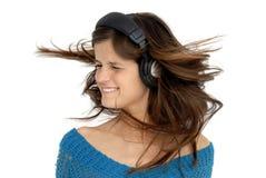 Enjoying Music Royalty Free Stock Images
