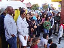 Enjoying the Music on Adams Morgan Day. Photo of people enjoying music in adams morgan in washington dc on 9/13/15 on adams morgan day. This diverse neighborhood royalty free stock image