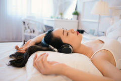 Enjoying music Royalty Free Stock Photos