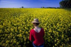 Enjoying nature Royalty Free Stock Photography