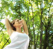 Enjoying the nature Royalty Free Stock Images