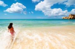 Enjoying Paradise Royalty Free Stock Image