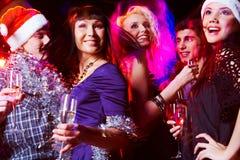 Enjoying party Stock Images