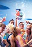 Enjoying party Royalty Free Stock Images