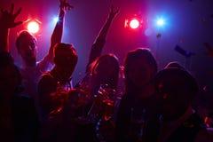Enjoying party Stock Photography