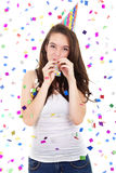 Enjoying the party Royalty Free Stock Images