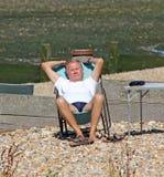 Enjoying retirement Royalty Free Stock Photo