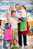 Enjoying shopping Royalty Free Stock Image