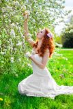 Enjoying spring Royalty Free Stock Photo