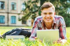 Enjoying student life. Stock Photos