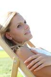 Enjoying Summer Royalty Free Stock Photography
