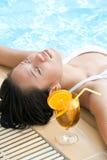 Enjoying summer Stock Image