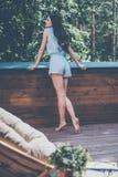 Enjoying summer day. Stock Images