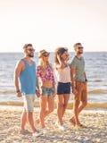 Enjoying summer together. Royalty Free Stock Image