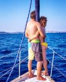 Enjoying summer vacation Royalty Free Stock Image
