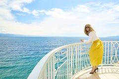 Enjoying summer vacation Royalty Free Stock Photography