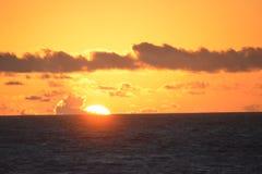 Enjoying the Sun Set Royalty Free Stock Photo