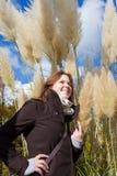 Enjoying the sunshine Stock Photography