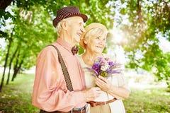 Enjoying sunshine Royalty Free Stock Photography