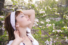 Free Enjoying The Spring Air Royalty Free Stock Image - 14503516