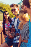 Enjoying time together. Royalty Free Stock Images