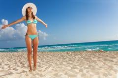 Enjoying vacation and sunlight Royalty Free Stock Photography
