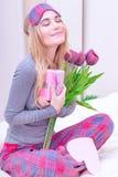Enjoying Valentine day Stock Photography