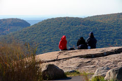 Enjoying the view on Bear Mountain Royalty Free Stock Photography