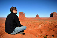 Enjoying the vista Royalty Free Stock Image