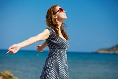 Enjoying warmth Royalty Free Stock Images
