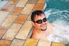 Enjoying the water Stock Photos
