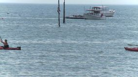 Enjoying the waterfront (6 of 9) stock footage
