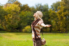 Enjoyment in nature Stock Photography