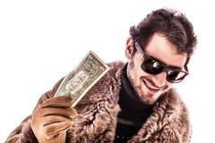 Enkel één dollar Royalty-vrije Stock Foto