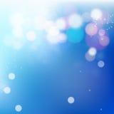 enkel att använda blå bokeh för bakgrund Royaltyfri Fotografi