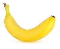 enkel banan Fotografering för Bildbyråer