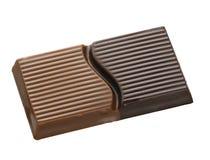 enkel choklad Royaltyfri Fotografi