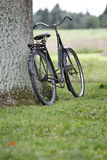 enkel cykel Royaltyfri Fotografi