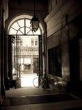 enkel cykel Fotografering för Bildbyråer
