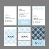 Enkel design för affärskort Royaltyfri Foto
