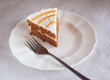 Enkel dessert Royalty-vrije Stock Foto