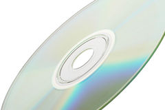 enkel dvd Arkivbild