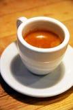 enkel espresso Arkivfoton