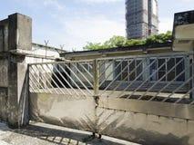 Enkel fängelsecell av Jing-Mei Human Rights Memorial och Cultura royaltyfri foto